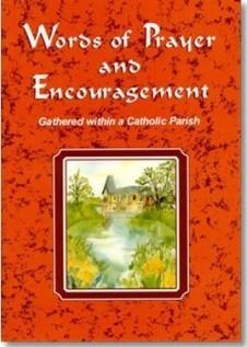 words of prayer encouragement christian catholic prayer book