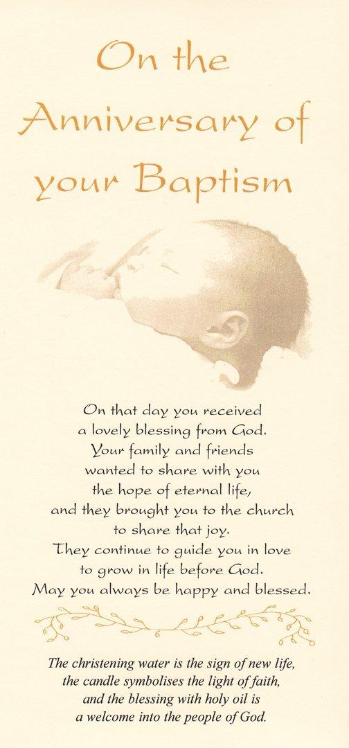 watermead online shop  baptism anniversary card