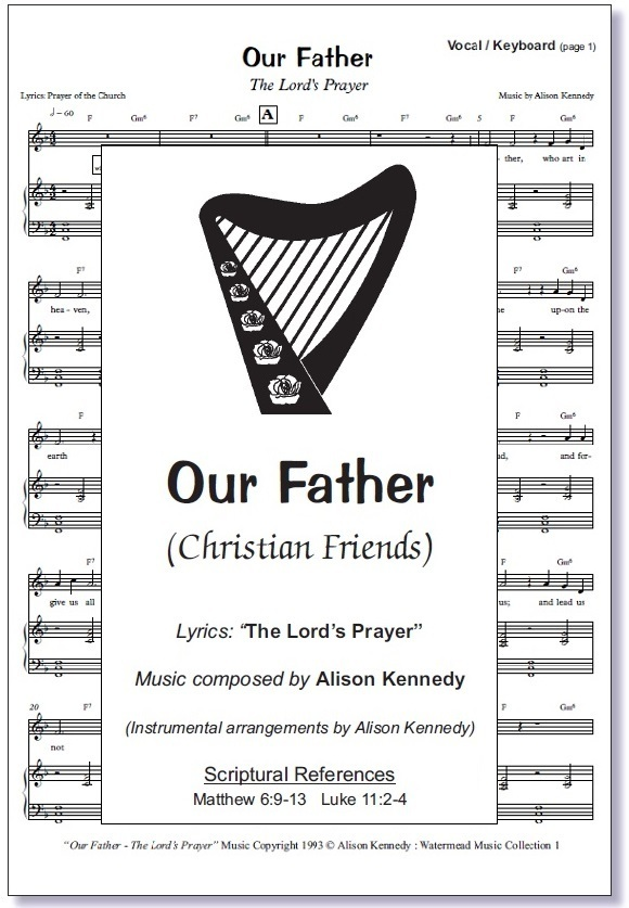 Our Father Prayer (hymn) Sheet Music