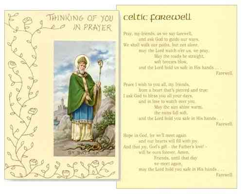 Mass Card - Celtic Farewell