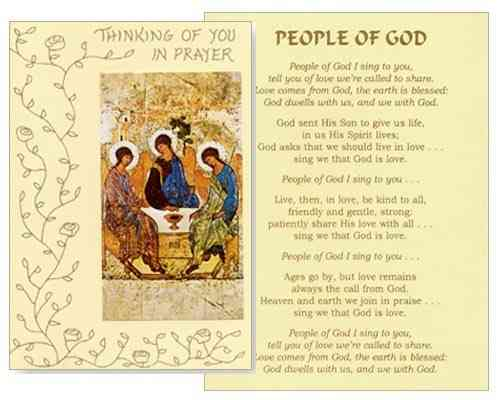 Mass Card - People of God