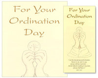 Ordination Cards