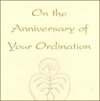 Ordination Anniversary Cards