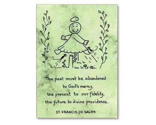 Little Saints Notelet - Divine Providence