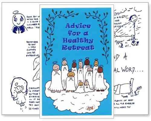 Little Saints Card - Healthy Retreat