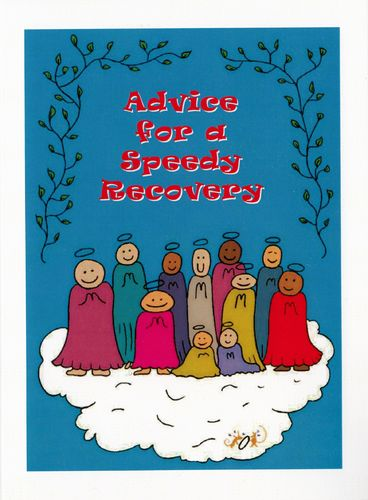 Little Saints Speedy Recovery Card