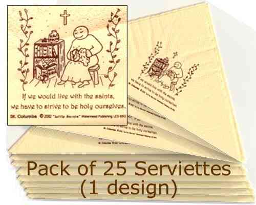 Little Saints Serviettes (25)