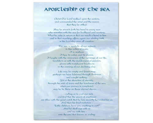 Apostleship of the Sea Laminate