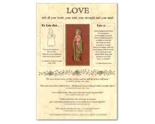 Love (Mary) Laminate