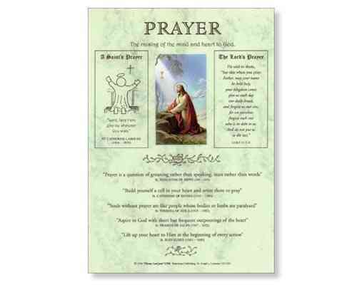 Prayer Laminate