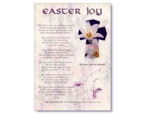 Easter Joy Laminate
