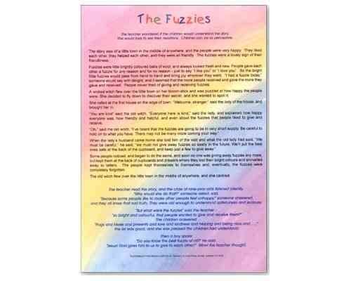 The Fuzzies Laminate