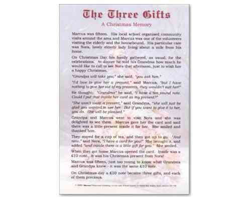 The Three Gifts Laminate