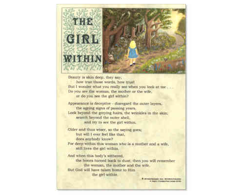 The Girl Within Laminate