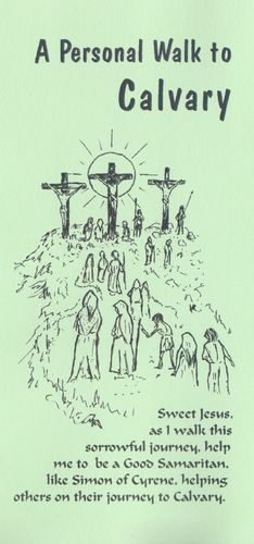 Stations of the Cross Card (Green)