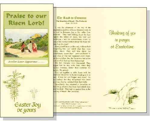 Road to Emmaus Easter Card
