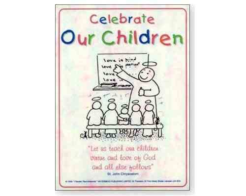 Celebrate Children  - Laminate