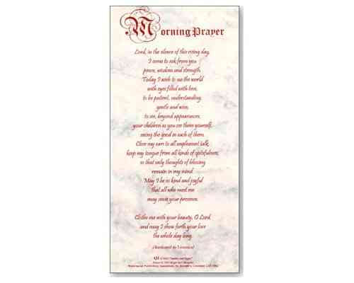 Morning Prayer - Smiles and Sighs Card