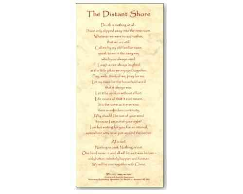 The Distant Shore - Smiles and Sighs Card