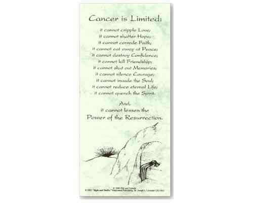 Cancer is Limited - Smiles and Sighs Card