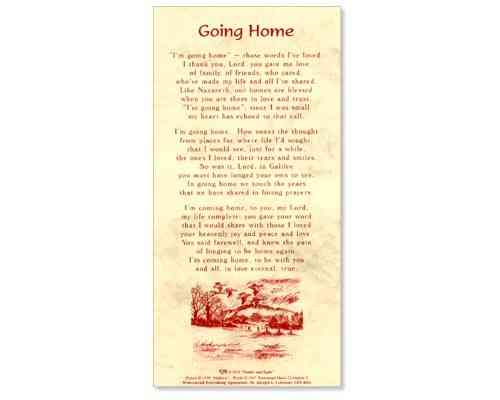 Going Home - Smiles and Sighs Card