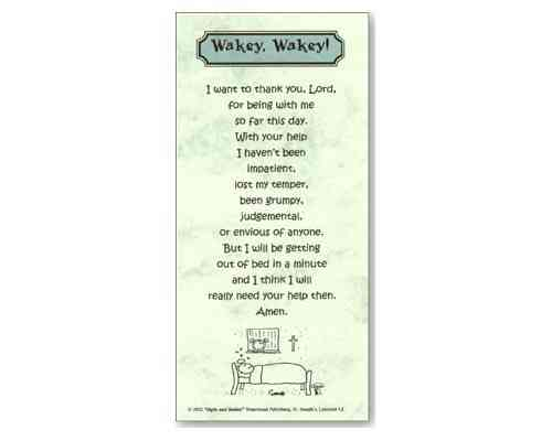 Wakey Wakey - Smiles and Sighs Card