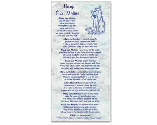 Mary Our Mother Notecard