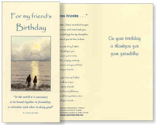 Birthday Card (friends)