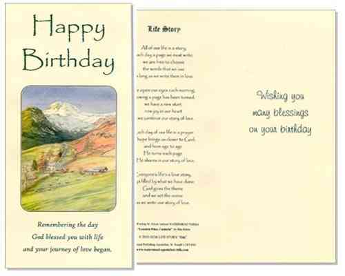 Birthday Card (Life Story)
