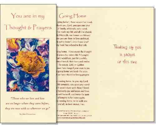 Bereavement Sympathy Card