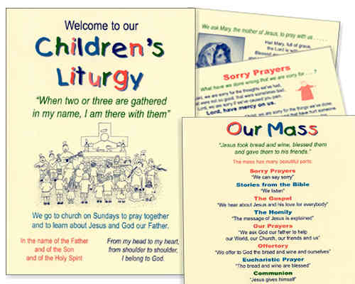 Children's Liturgy Card