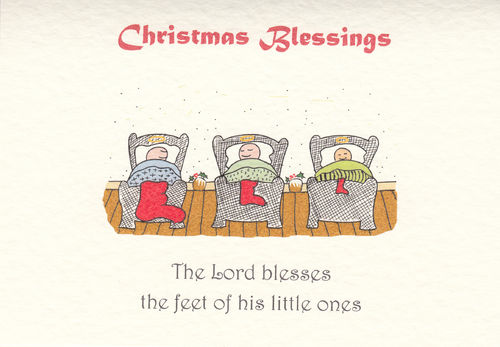 Little Saint Christmas Card (Trio)