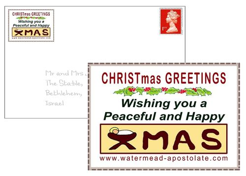 Christmas Greeting Labels