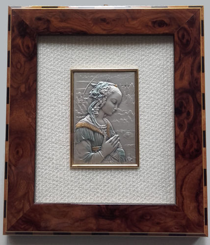 Madonna at Prayer silver picture