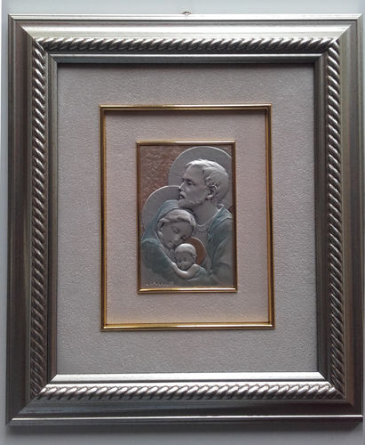 Holy Family Silver Picture