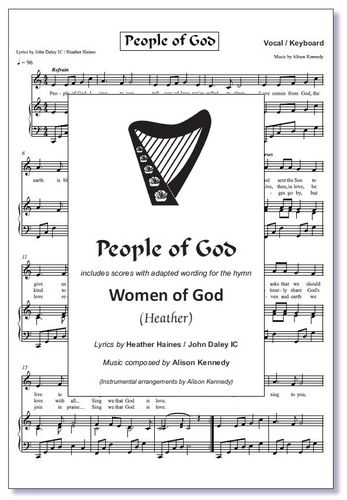 People (Women) of God Sheet Music