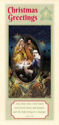 Christmas Story Card (Shepherds)