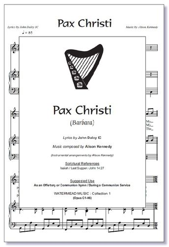 Pax Christi Sheet Music