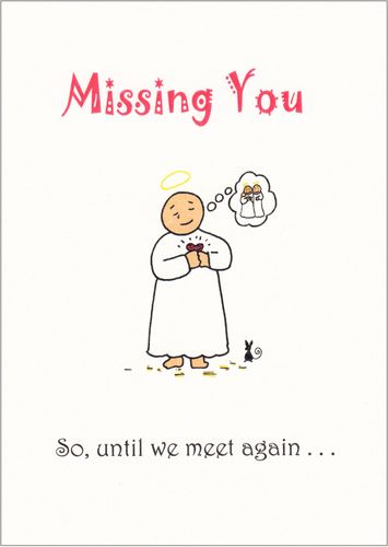 Little Saints - Missing You Card