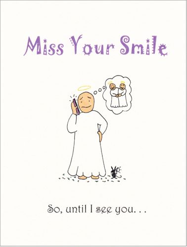 Little Saints - Miss Your Smile Card