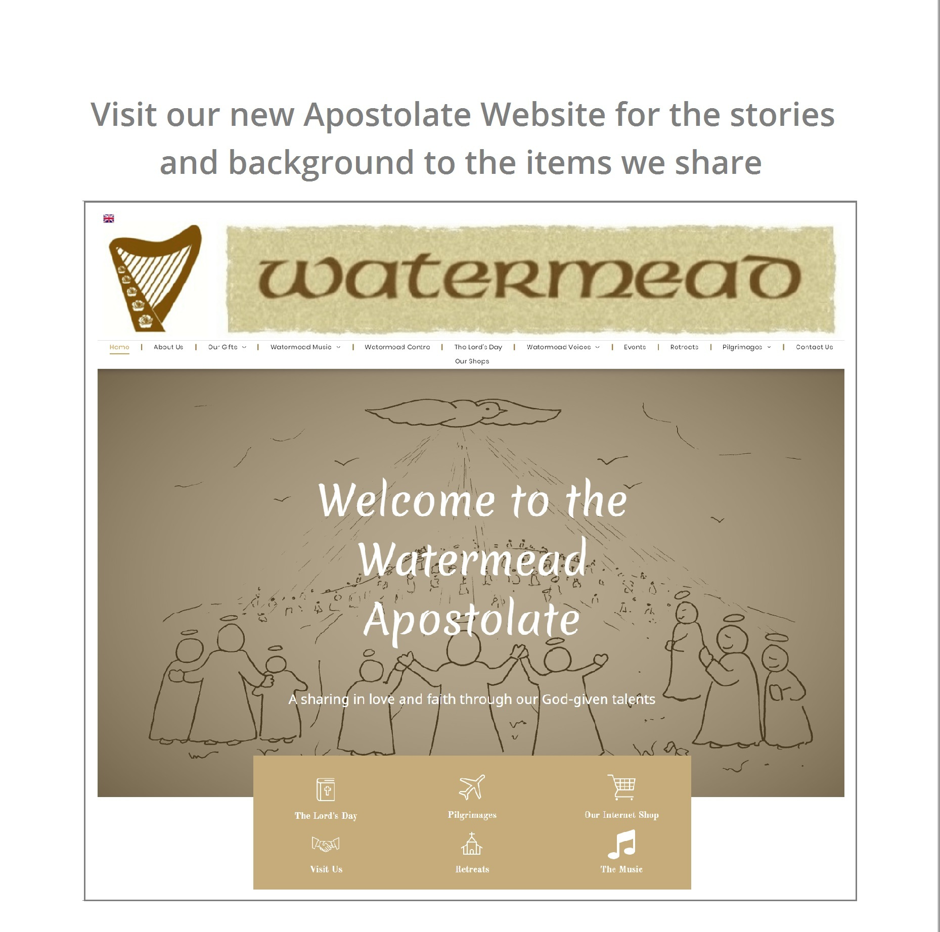 Watermead Apostolate Website