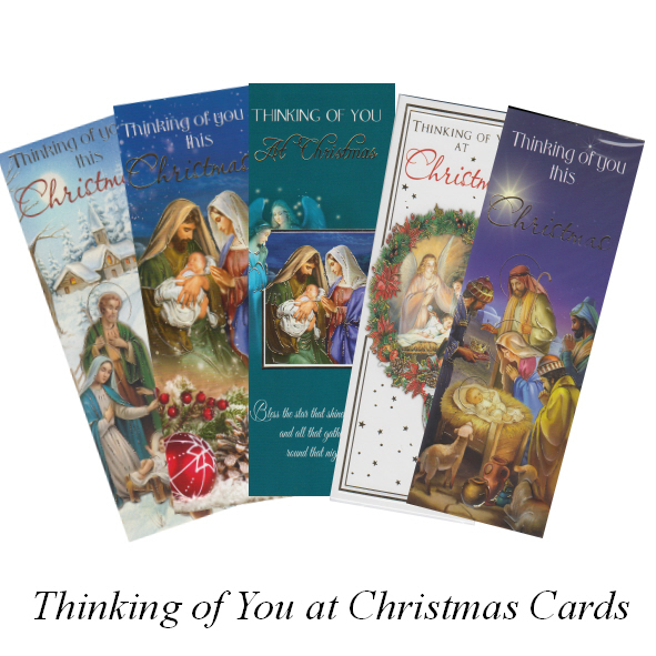 Thinking of You at Christmas Cards